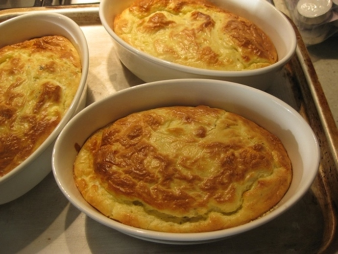 blue,cheese,souffle,ready,for,oven