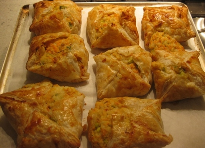 baked,salmon,parcels