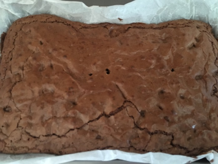 Brownies cooked