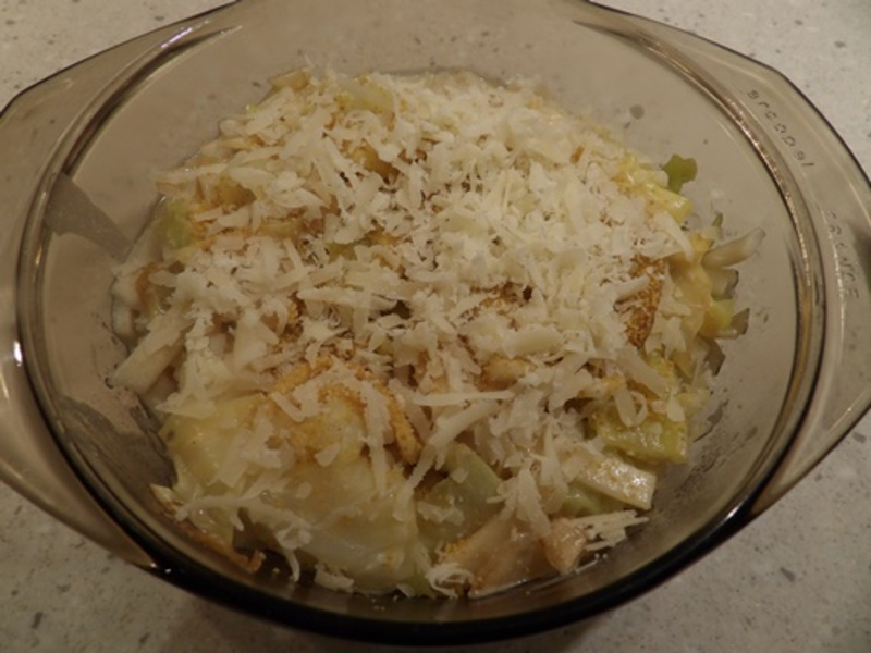 adding,ingredients,to,cabbage,casserole