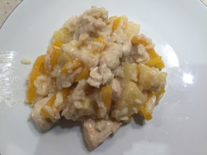 Carribean,chickn,with,rice  - Carribean Chicken
