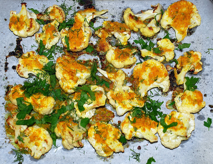 Cauliflower with Citrus and Spices