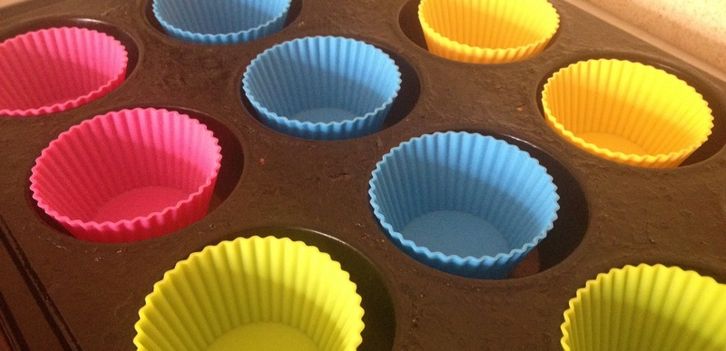 Chocolate, cup cake, easy, simple, silicon cases  - Mini Tower Chocolate Cupcakes