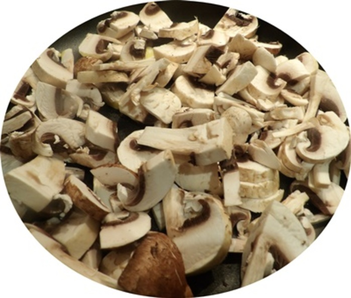 chopping,mushrooms,for,cheese,quesadillas