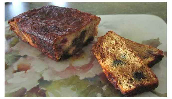 Coconut and Berry Loaf mixture