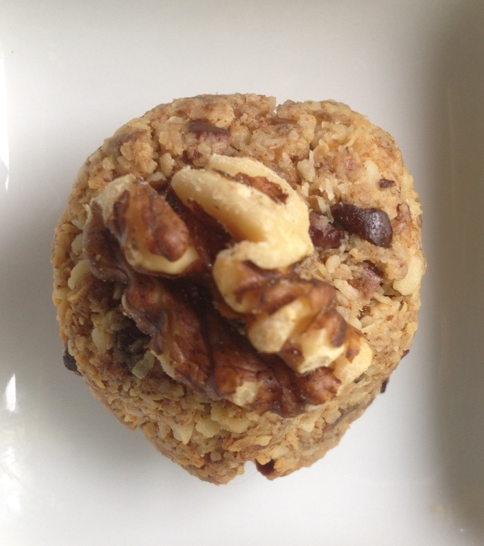 Walnut coconut cookie