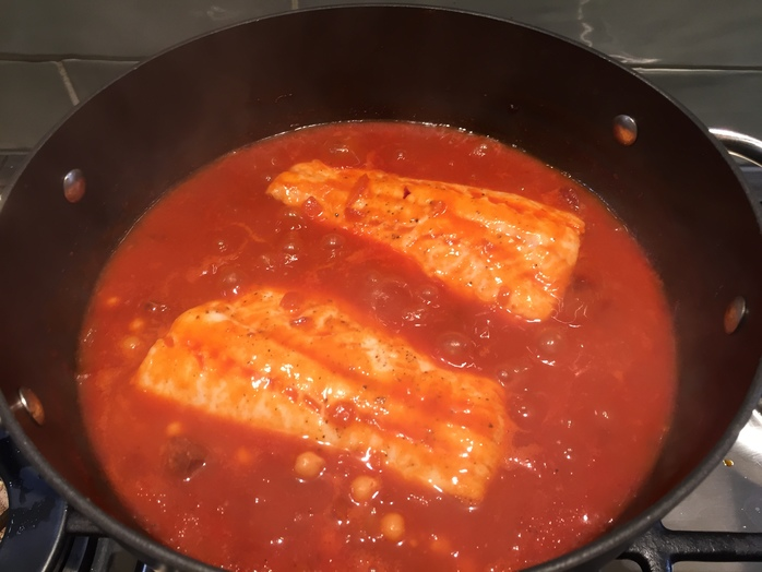 COD, one pot, easy fish dinner