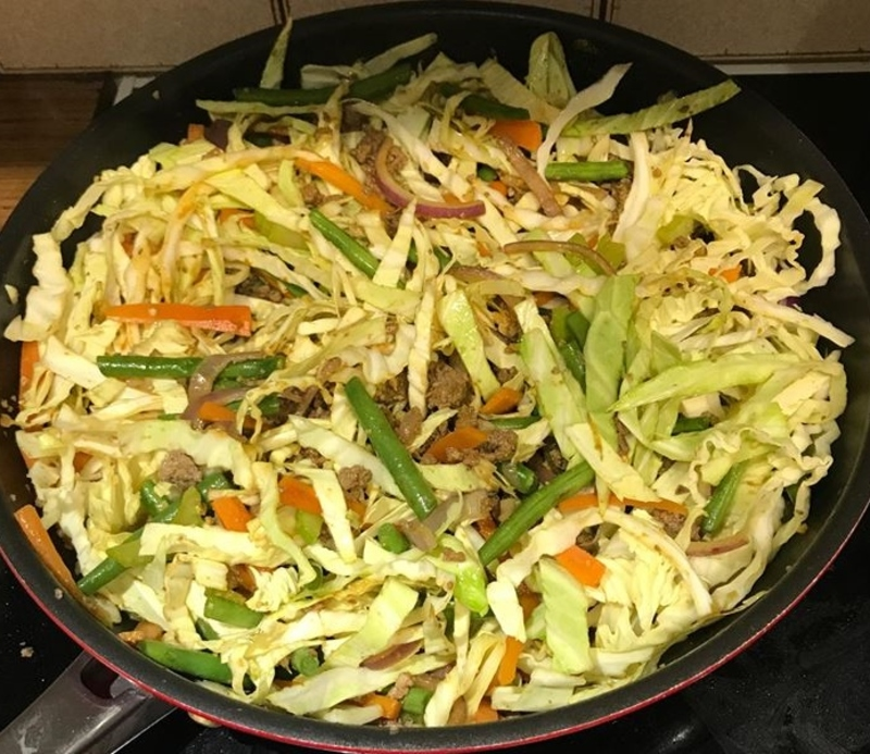 Cook for 30-40 minutes  - Healthy Chow Mein