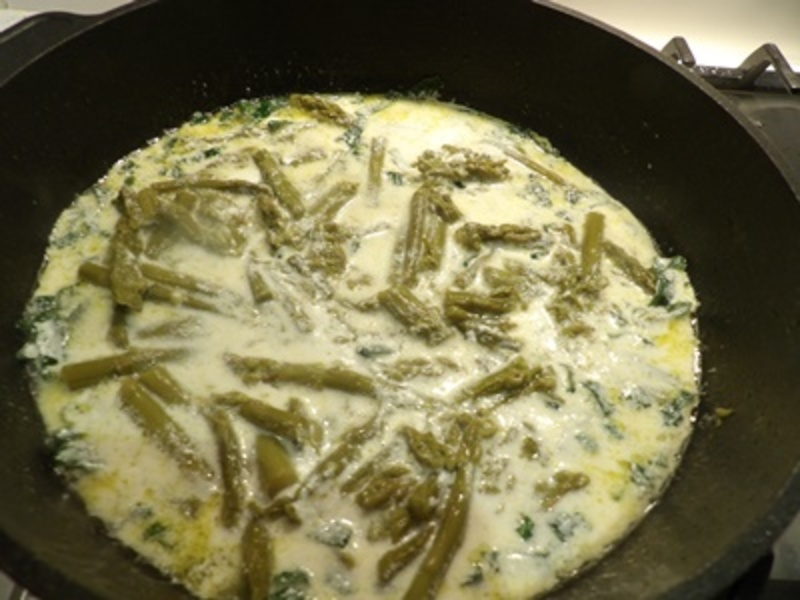 making,hash,browns,for,baking  - Asparagus, Almond Snapper with Oven Baked Hash Browns