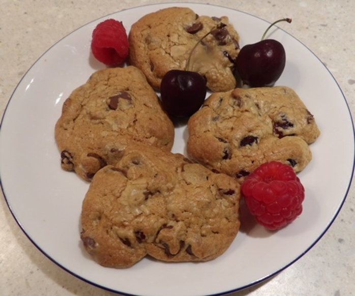 cranberry,chocolate,biscuits