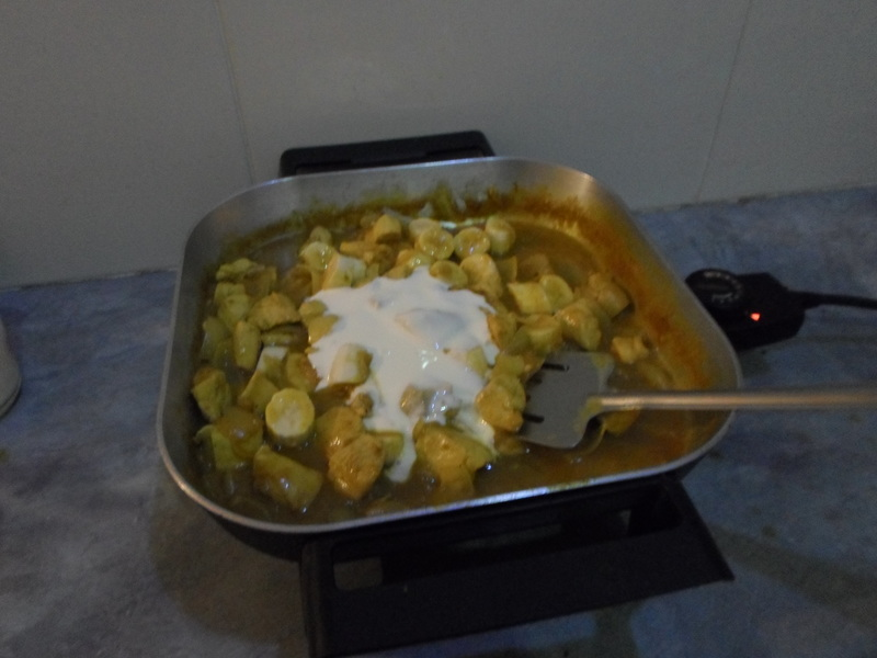 Cream, Bananas