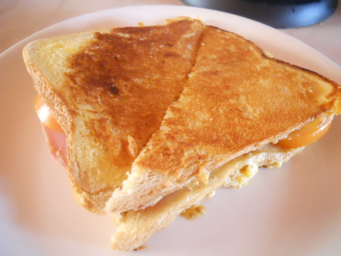 croque monsieur, toastie, ham & cheese