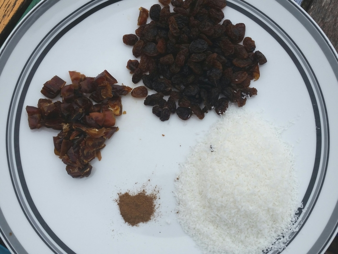 dried fruit and spices