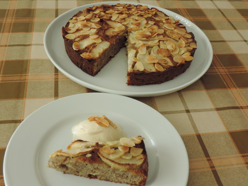 Almond Apple Cake