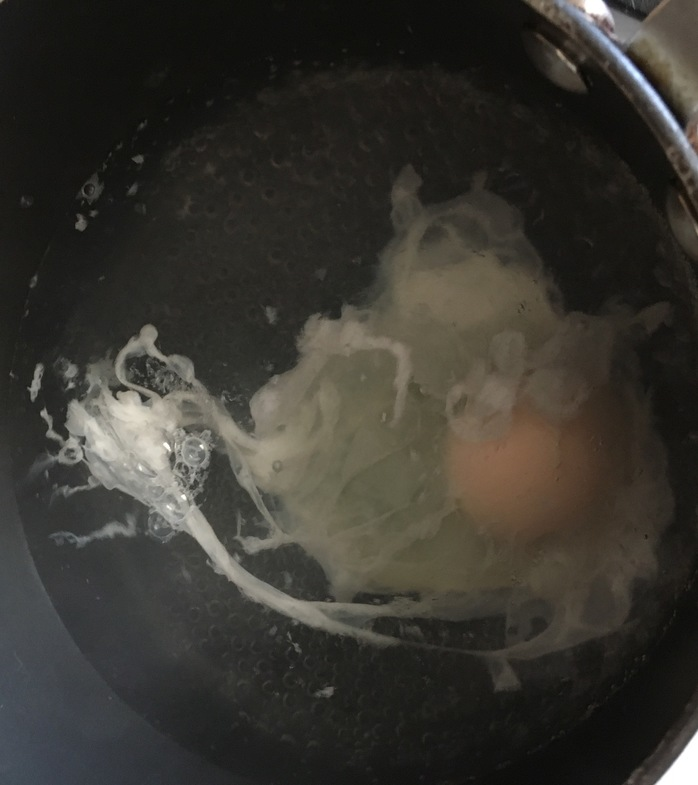 Egg poaching