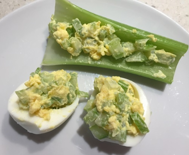 eggs,with,prawns  - 4 Lunches Using Hard Boiled Eggs