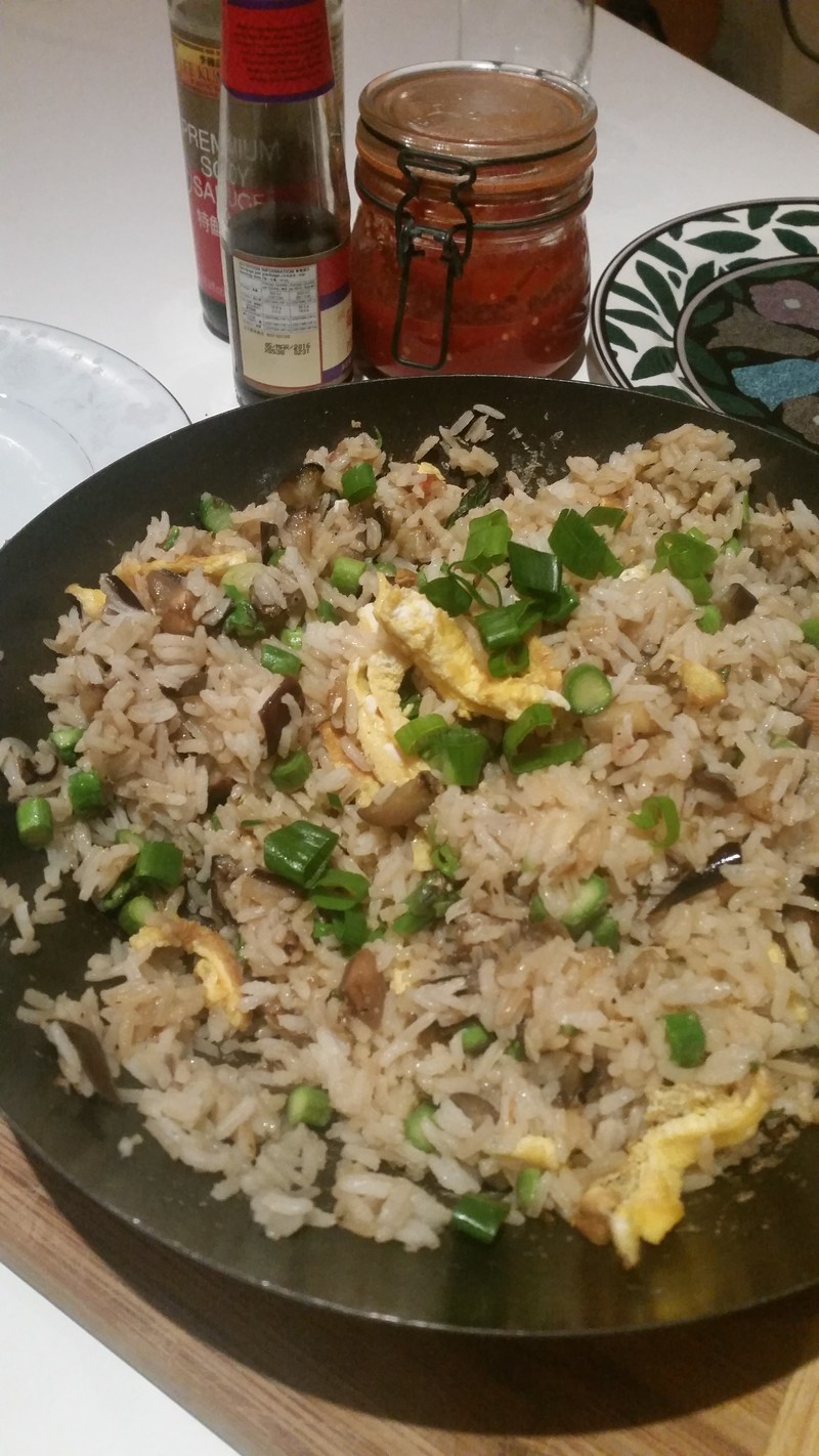 Epplant & Chilli Fried Rice