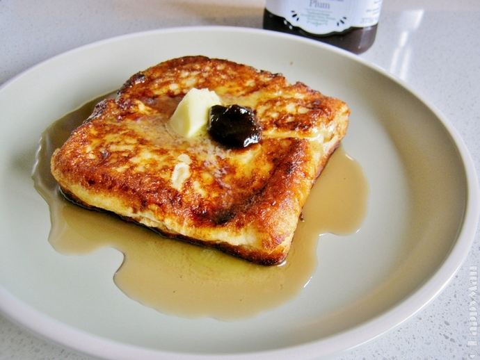 French-style Toast with Peanut Filling