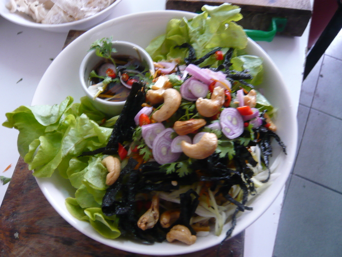 Green Mango Spicy Salad