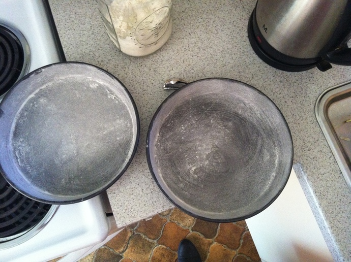 I had to use two pans at a time
