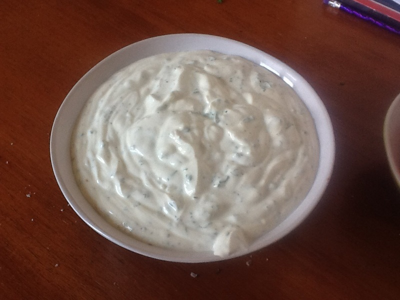 Simple Summer Tzatziki With Potatoes