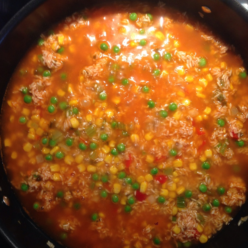 Cajun Chicken with Mexican Rice