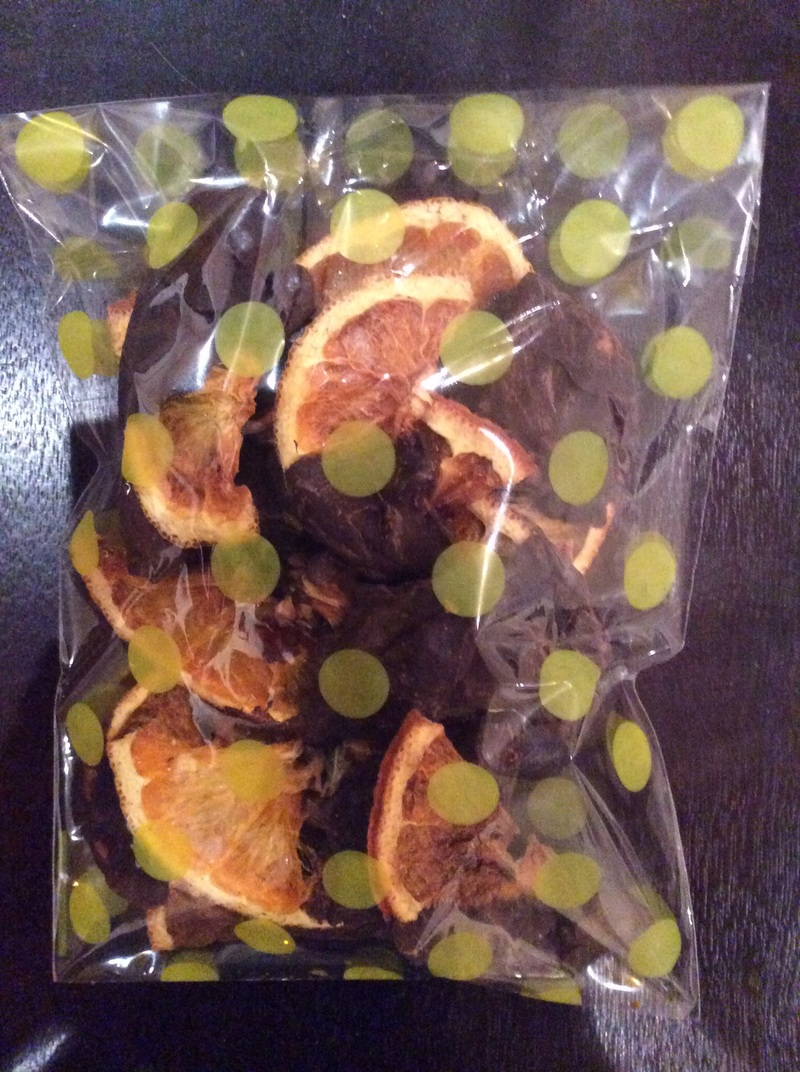 Dehydrated Orange & Chocolate Slices