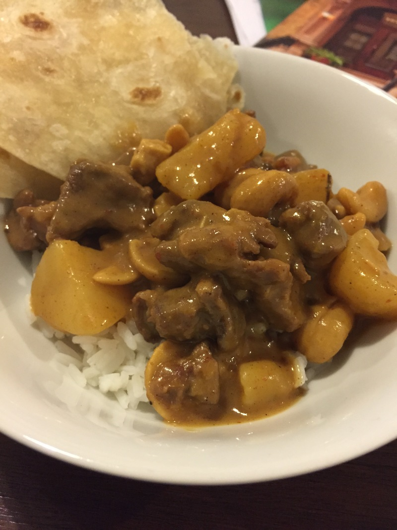 Massaman Beef & Potato Curry