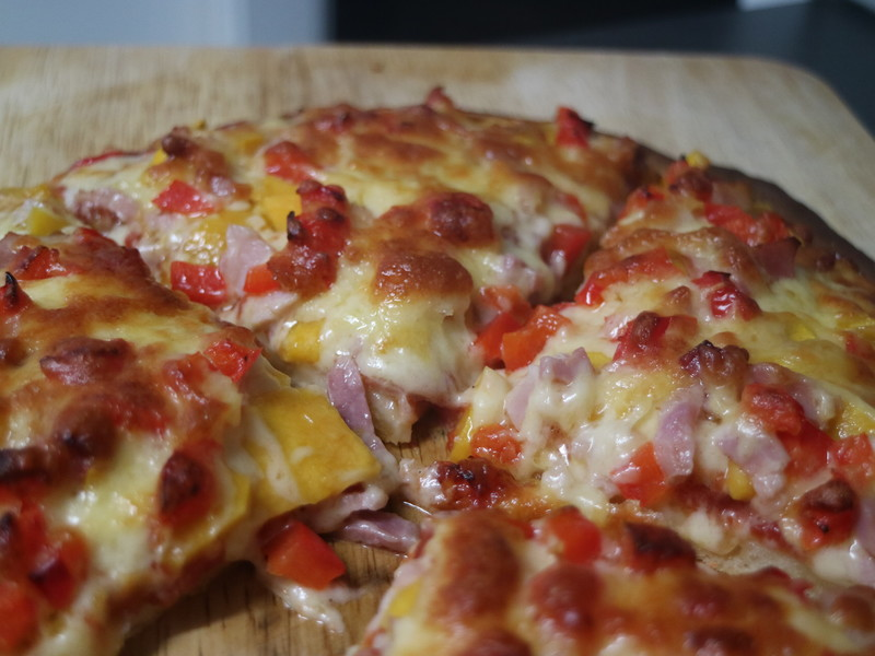 Quick Pumpkin and Bacon Pizza