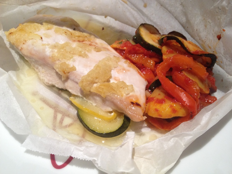 Lemon and Garlic Chicken Parcels