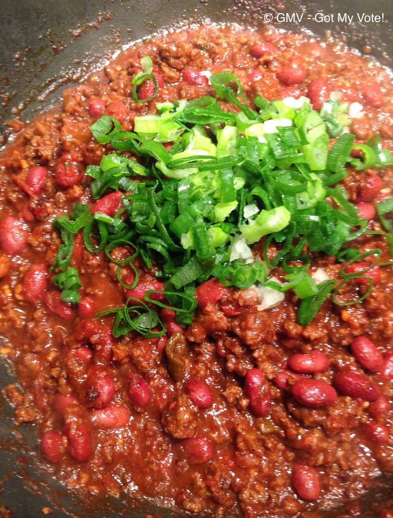 Winter Comfort Beef & Red Wine Chili Con Carne