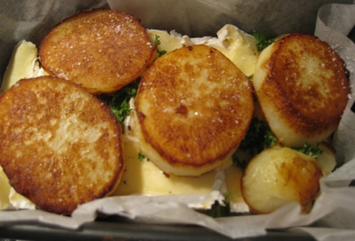 cooking,potatoes,for,terrine