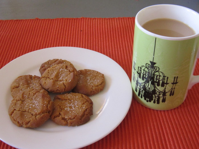 Lazy Treacle Cookies