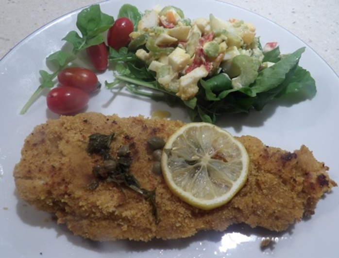 low,fat,scallopine