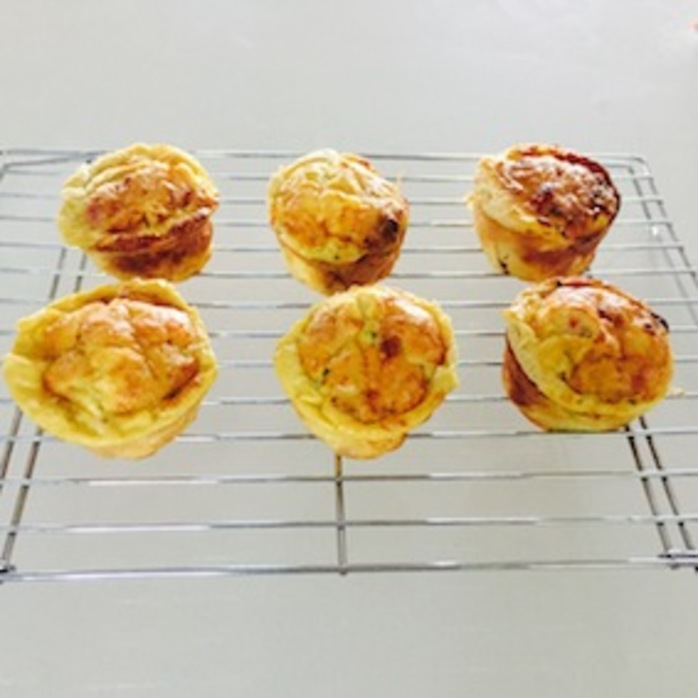 Lunchbox Frittatas fresh out of the oven