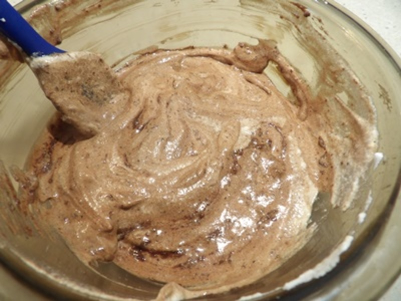 grinding,cashews  - Chocolate and Chili Salted Cashew Mousse