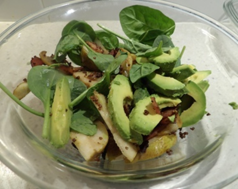 cooking,pears  - Pear and Avocado Salad