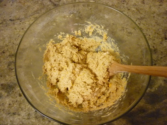 Mixture with Dry Ingredients