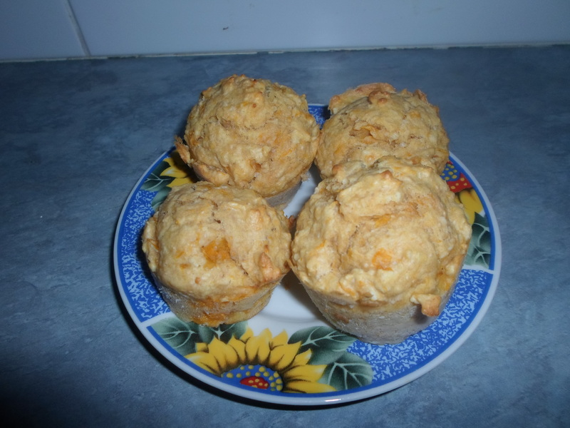 Muffins  - Apricot And Coconut Muffins
