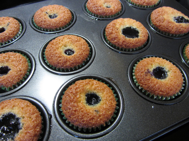 Gluten Free Lime And Berry Friands