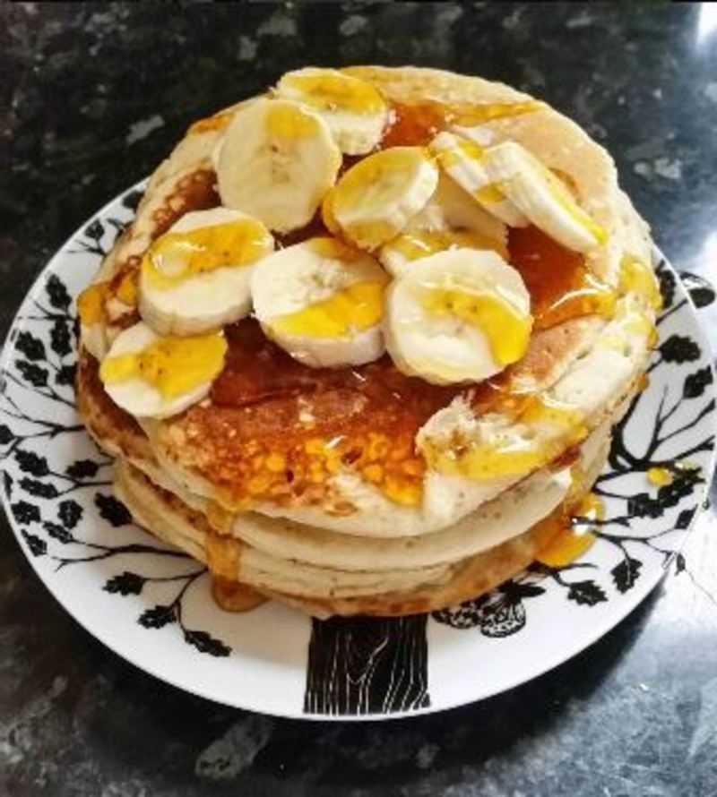 5 Minute Pancakes - Dairy Free & Egg Free