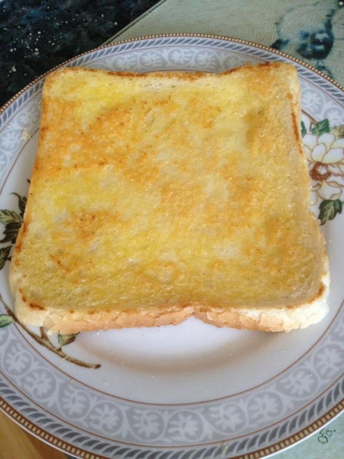 Piece of my cheese toast