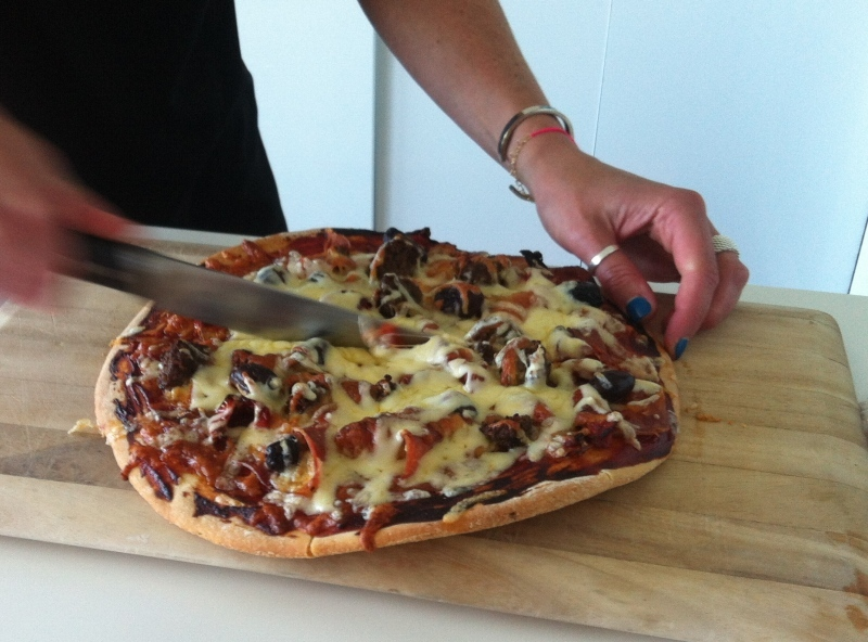 pizza, home made pizza, gourmet pizza  - Home Made Gourmet Pizza