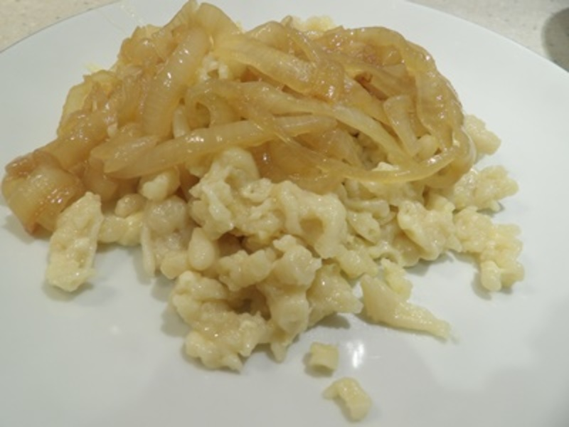 making,dough,for,noodles  - German Noodle and Cheese Dish