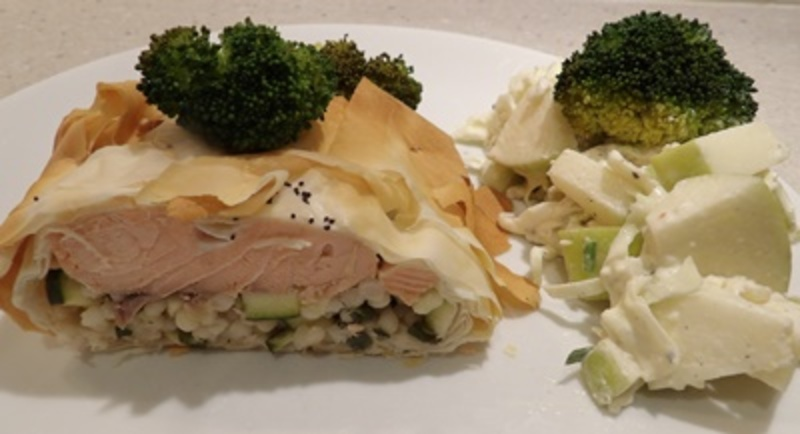 prepared,blue,cheese,coleslaw,salad
