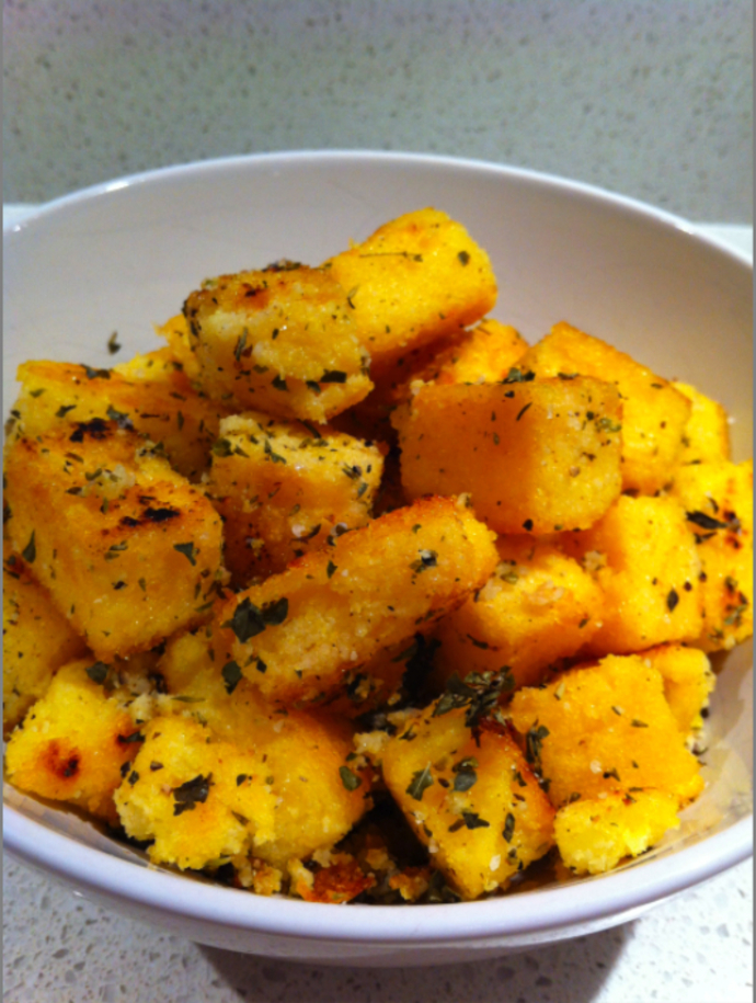 Polenta Bites - a great accompaniment to any main meal or as a stand-alone snack