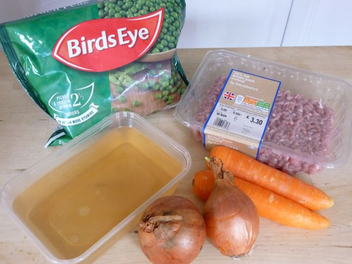 pork mince casserole ingredients home cooking food