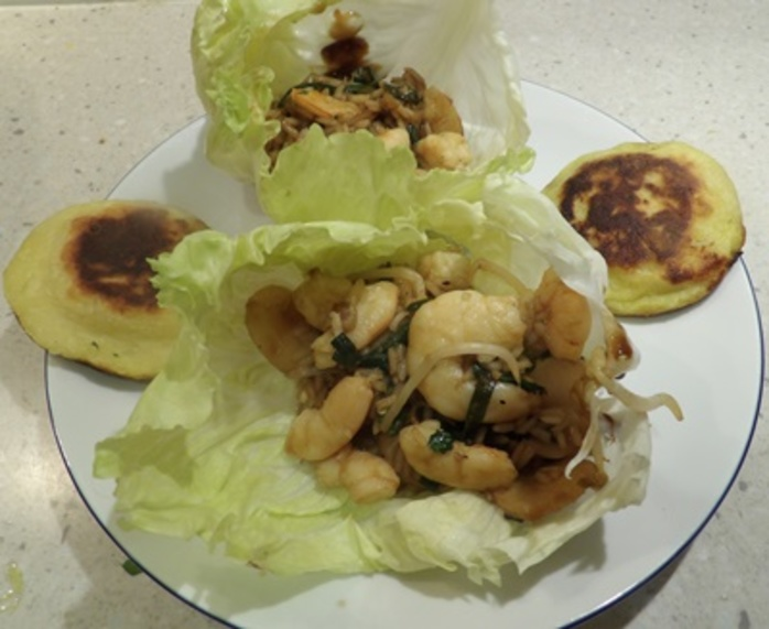 potato,parcels,served,with,prawn,san,choy,bow