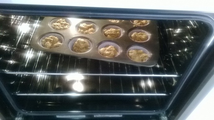 Puddings in Oven