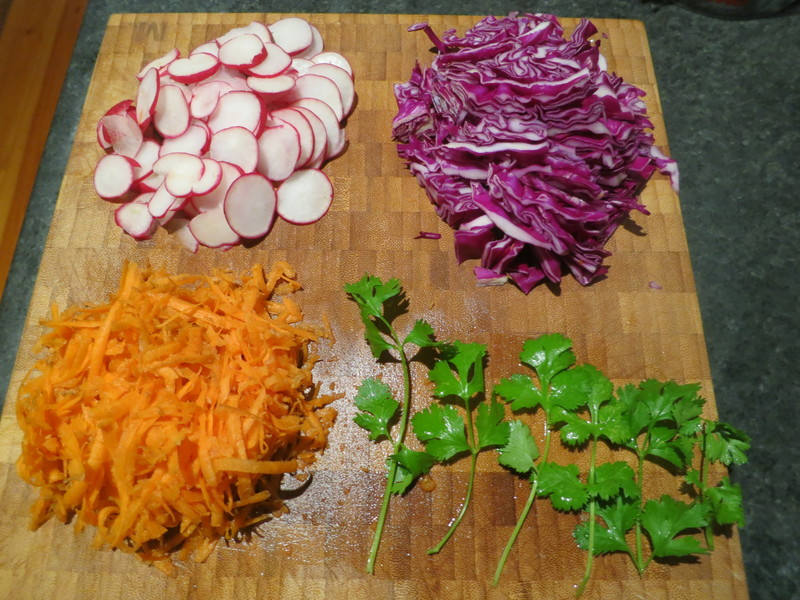 Jamaican Chicken Jerk and Red Slaw Tacos  - Jamaican Chicken Jerk and Red Slaw Taco